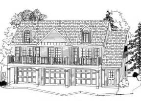 house plans with large garages carriage house plans 3 car carriage house plan 053g