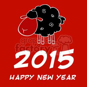 new year 2015 illustration royalty free clipart illustration happy new year 2015