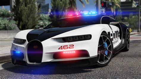 bugatti chiron hot pursuit police add  replace