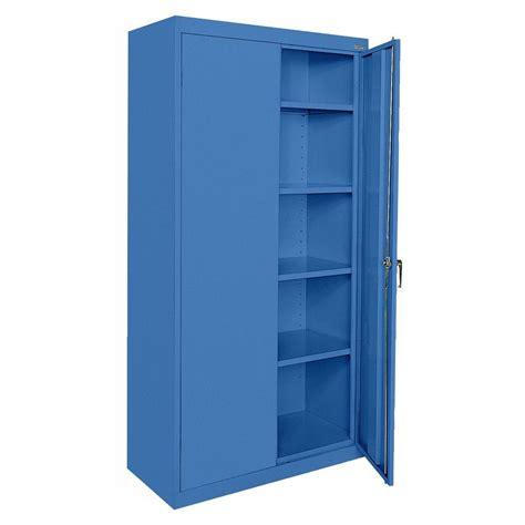 Akadahome 5 Shelf Laminate Single Door Storage Cabinet In The Door Storage Cabinet