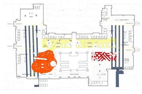 selfridges floor plan architecture