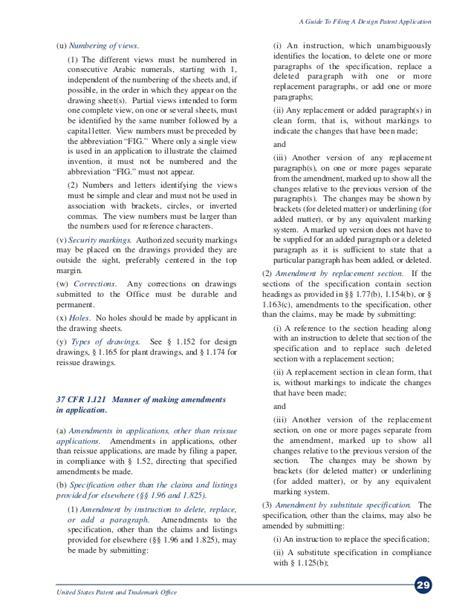 design patent application guide a guide to filing for a design patent via uspto