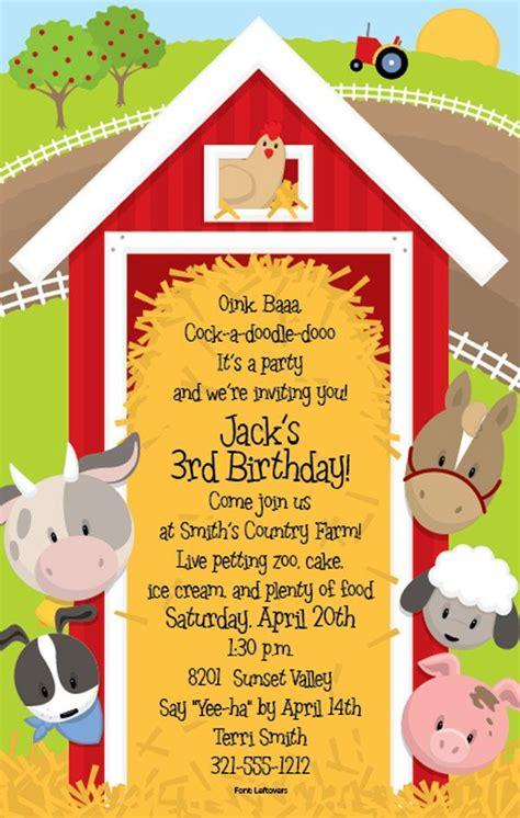 barn invitation template best 25 farm invitations ideas on farm