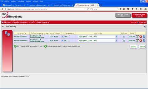 emule test porte test porte non funziona adu 3 18 ed2k rete id basso