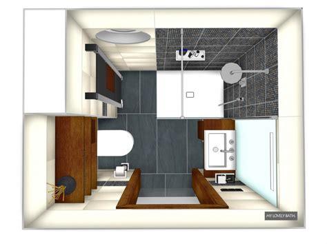 badezimmer 2 qm kleines bad gestalten ideen mosaik braun beige kleiner