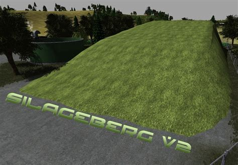 FS 2013: Silage mountain v 2 Buildings with Functions Mod