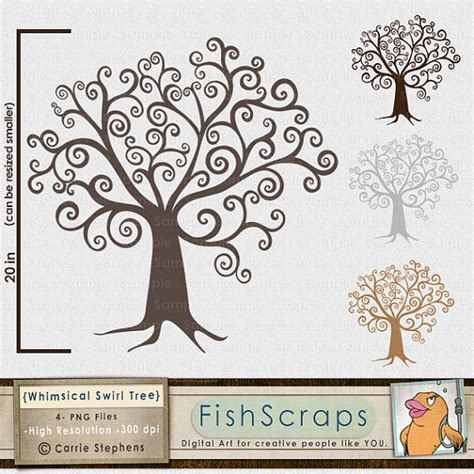 printable family tree art digital tree clipart diy family tree clip art whimsical wish