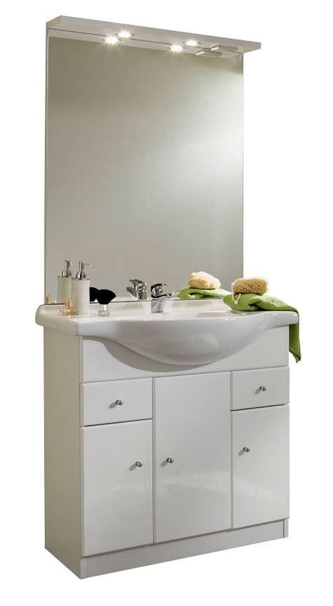 meuble et vasque salle de bain pas cher meuble de salle de bain contemporain avec vasque et miroir