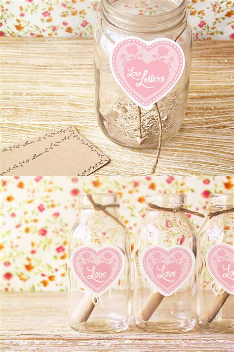 themes love jar diy wedding love notes once wed