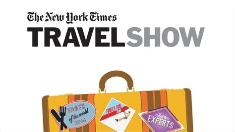 quot new york times travel show quot multipress
