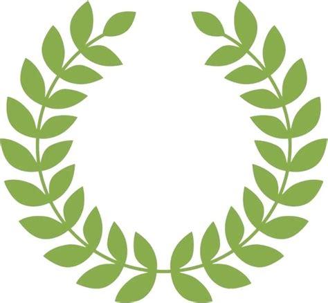 laurel leaf crown template laurel wreaths and dividers free vector leaf crown