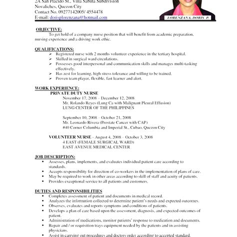 resume format for nurses doc nursing cv template doc gallery certificate design and