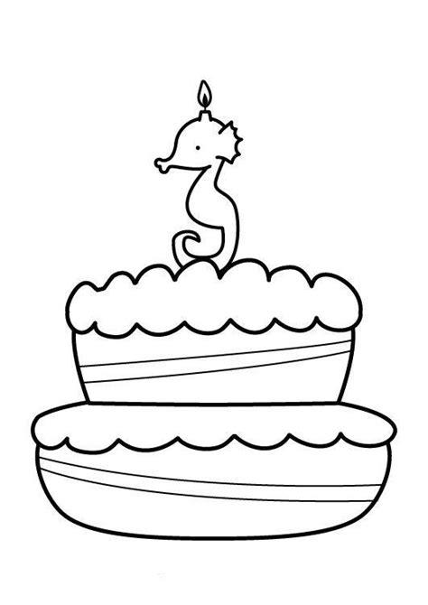 kuchen malen kostenlose malvorlage geburtstag kuchen zum dritten