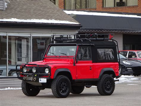 1997 land rover defender 1997 land rover defender 90 convertible copley motorcars
