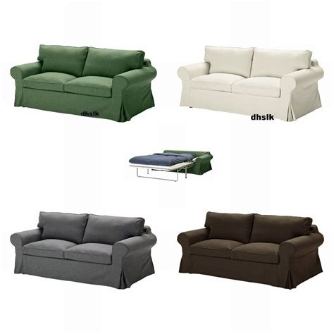 Ikea Ektorp Sleeper Sofa Ikea Ektorp Sofa Bed Slipcover Sofabed Cover Svanby Green Gray Brown Beige Grey Cad 449 95
