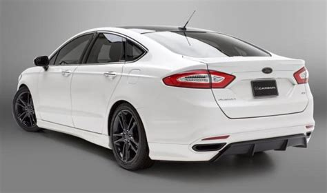 dcarbon ford fusion body kit package rear