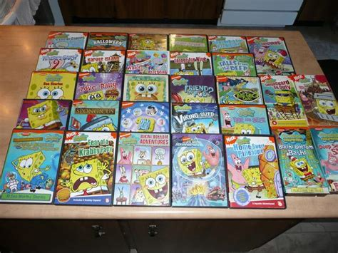 family dvd collection stratford pei spongebob squarepants dvd collection 26 dvd s 4 vhs