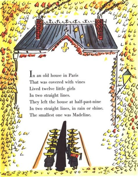 Madeline And The House In by Quot In An House In That Was Covered In Vines