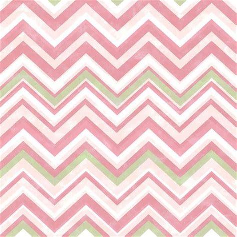 Pink Chevron L by Susie Pink Chevron Has47293