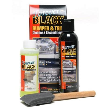 cleaning boat bumpers forever black bumper trim cleaner reconditioner kit