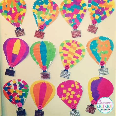 balloon crafts for air balloon craft for that goes great with