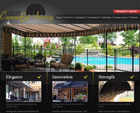 valley canvas and awning valley canvas awning patio awnings kelowna in kelowna