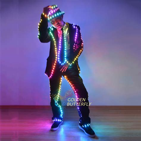 led lights for clothing aliexpress com buy led light clothing luminous suits
