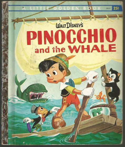 big book pictures pinocchio and the whale golden book disney wiki