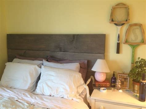 home made headboards homemade headboard is complete home pinterest