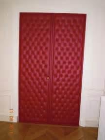 capitonnage de porte sen decors