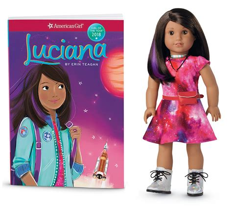 luciana american of the year 2018 book 1 books this 18 inch doll wants to inspire the next generation of