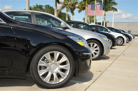car sales usa cars  lined waiting  prospective buyer flickr