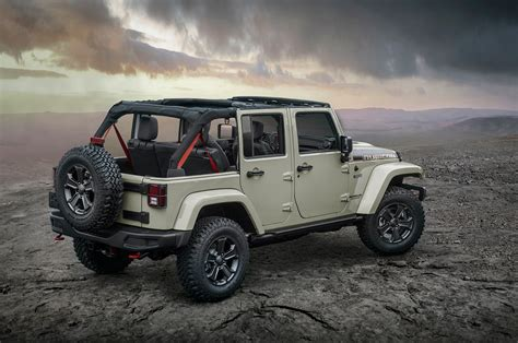 jeep rubicon offroad 2017 jeep wrangler rubicon recon is the most off road