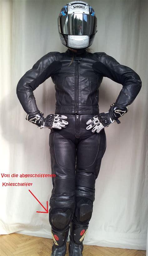 Gebrauchte Motorradbekleidung Damen by Motoparts At Alpinestars Damen Leder Zweiteiler