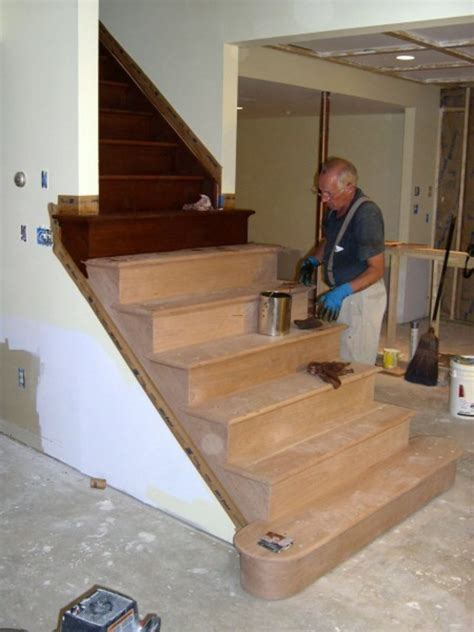building basement stairs basement steps it cake ideas and designs