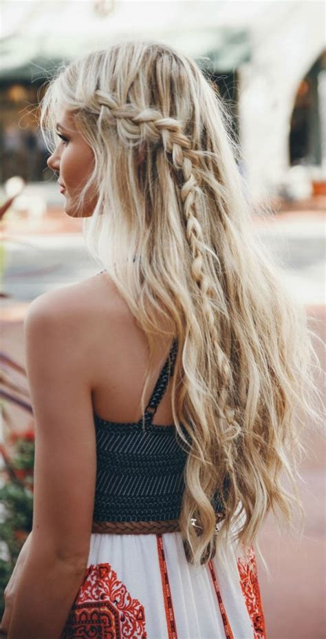 braided hairstyles hippie 30 boho chic hairstyles you must love styles weekly