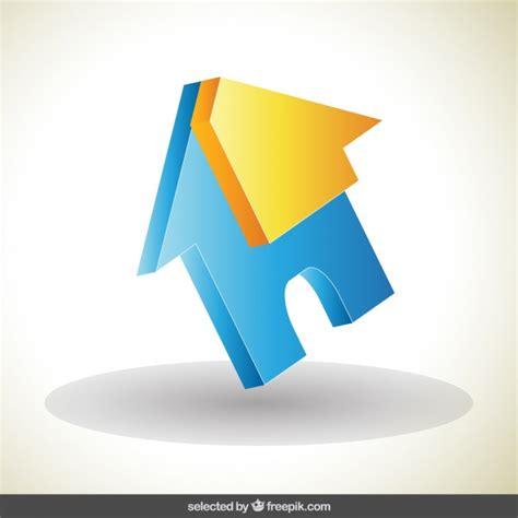 home design 3d logo house 3d logo vector free download