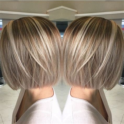 bob haircuts and highlights bob hairstyles with blonde highlights google search