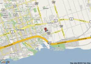map of quality hotel conference centre oshawa oshawa