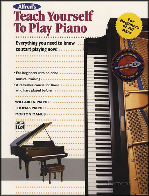 you at piano books alfred s teach yourself to play piano book cd learn how to