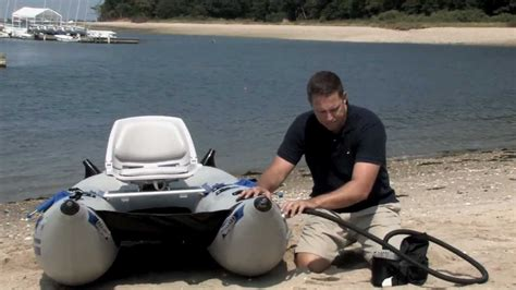 north fork pontoon boats how to assemble and use the sea eagle frameless pontoon