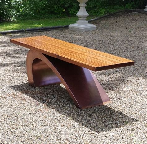 chris bench modern garden bench luxury designer garden furniture