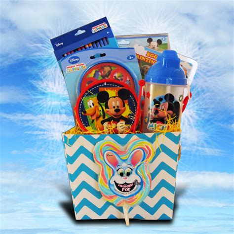 gifts for kids under 10 mickey mouse easter gift basket for children under 10