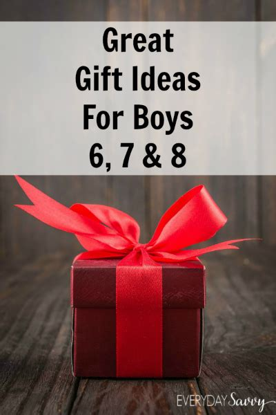 great ideas for gifts great gift ideas for boys ages 6 7 8