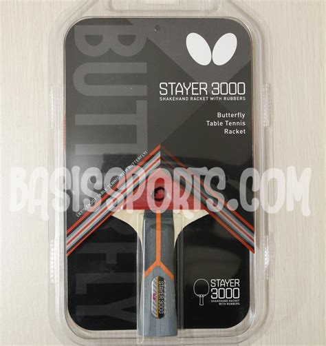 Bet Pingpong Tenis Meja Butterfly Stayer 3000 jual beli jual bet pingpong butterfly stayer 3000 limited