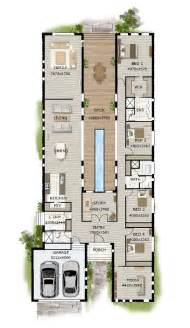 Best Floor Plans For Homes by Best 25 Narrow House Plans Ideas On Small