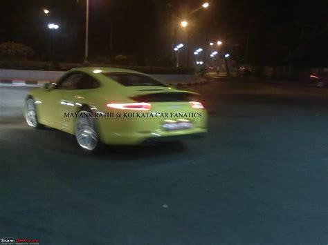 porsche kolkata supercars imports kolkata page 180 team bhp