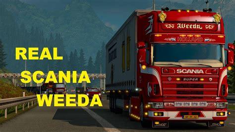 scania  weeda holland ets mods