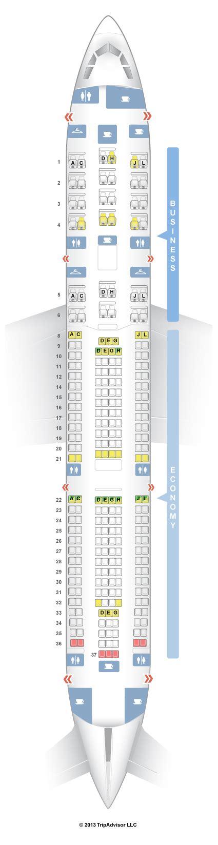 iberia airbus a340 500 seat map seatguru seat map iberia airbus a340 300 343