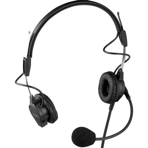 Earphone Hifi Tranparent Dual Dynamic With Microphone rts ph 44 dual sided headset with dynamic boom mic